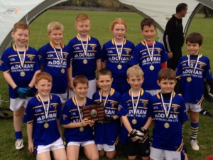 Under 10's win James O'Brien Shield – 29th October 2016