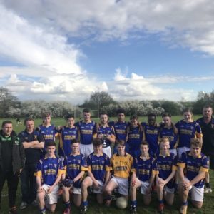 1.4.2017 U17 League Development Final-Parnells Win