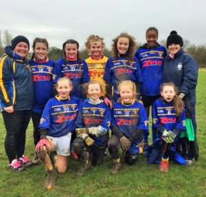 11.2.2018 U14 Girls win first Provincial Blitz