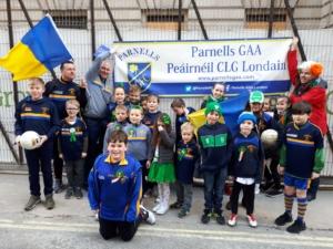 Parnells celebrating St Patrick's Day