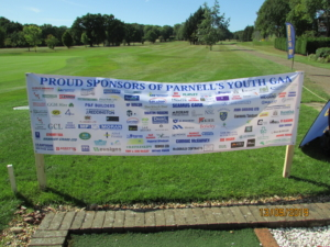 Parnells GFC Youth Annual Golf Day 13.9.2019