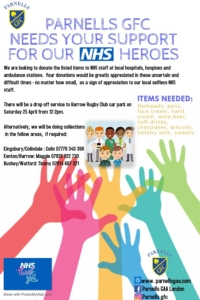 Parnells supporting our NHS heroes